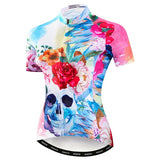 Women's Skull & Roses Cycling Jersey