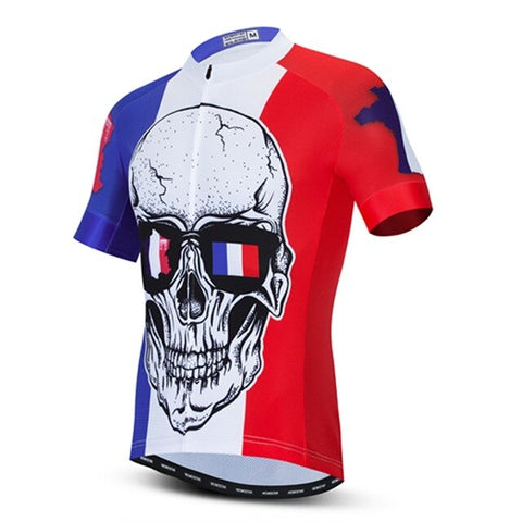 France Skull Cycling Jersey