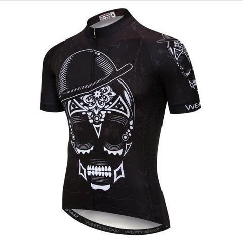 Hat and Skull Cycling Jersey