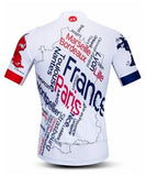 French Postcard Cycling Jersey