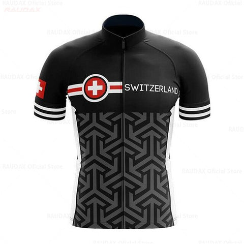 Swiss Pro Team Cycling Jersey