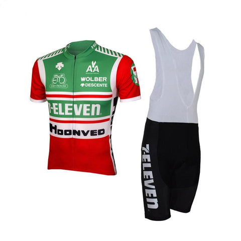 7-Eleven Retro Cycling Jersey Set