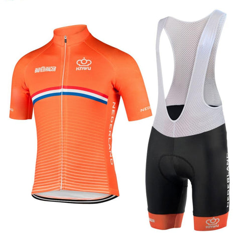 Netherlands Cycling Team Retro Cycling Jersey Set