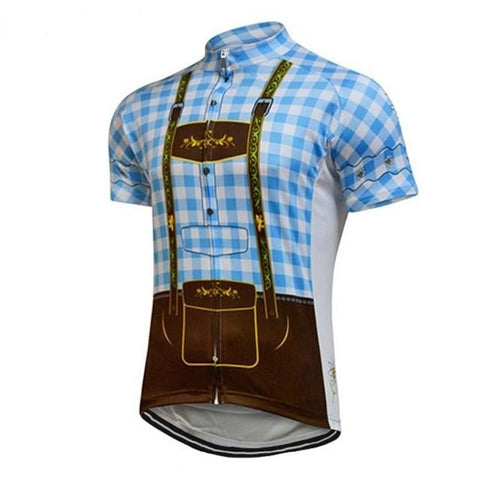 Lederhosen Retro Cycling Jersey