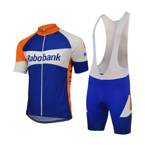 Rabobank Retro Cycling Jersey Set