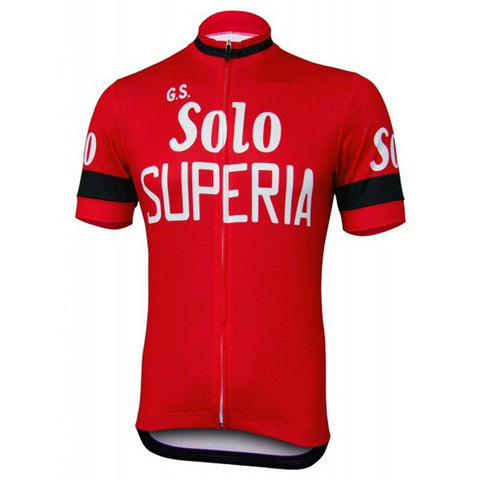 G.S. Solo Superia Retro Cycling Jersey