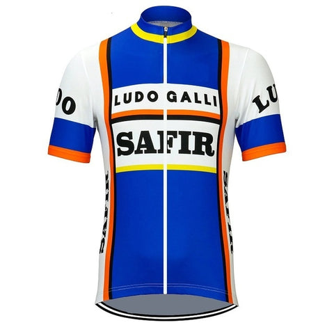 Safir Ludo Galli Retro Cycling Jersey