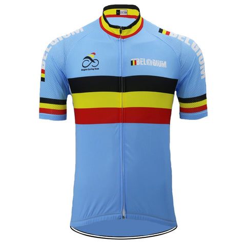 Belgium Cycling Team Retro Cycling Jersey