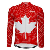 Canada Maple Leaf Cycling Jersey