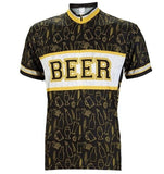 Yellow Beer Cycling Jersey