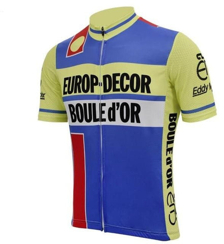 Europ Decor Boule d'Or 1984 Retro Cycling Jersey