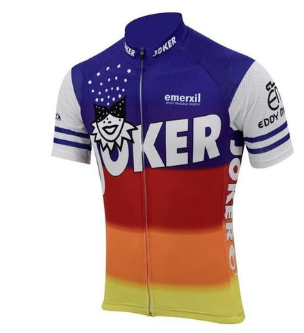 Eddy Merckx Joker Emerxil Team 1986 Retro Cycling Jersey