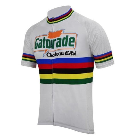 Chateau d'Ax Gatorade Retro Cycling Jersey