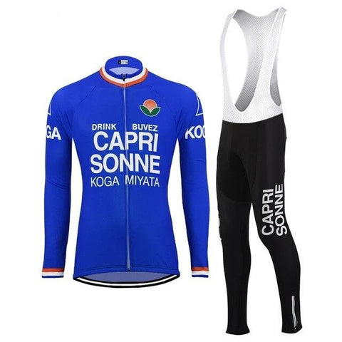 Capri Sonne Retro Cycling Jersey Long Set (with Fleece Option)