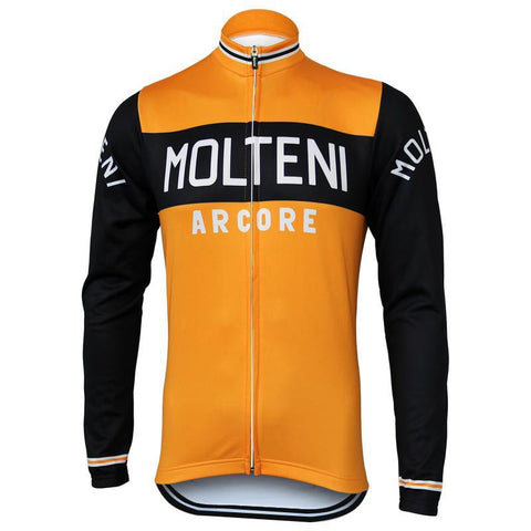 Molteni Arcore Retro Cycling Jersey (with Fleece Option)