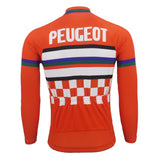 Peugeot A.V.C. Nimes Retro Cycling Jersey (with Fleece Option)