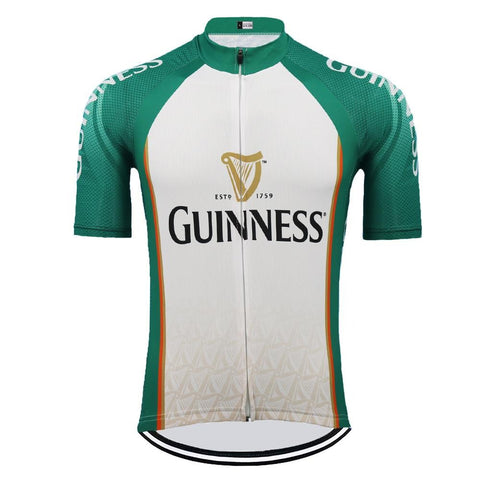 Guinness Retro Cycling Jersey Green