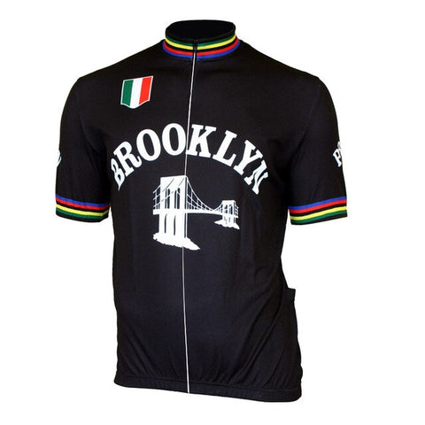Brooklyn Chewing Gum Retro Cycling Jersey Bridge