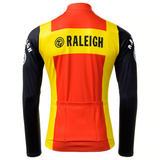 TI Raleigh Long Sleeve Retro Cycling Jersey