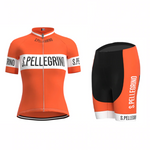Women's San Pellegrino Retro Cycling Jersey Set