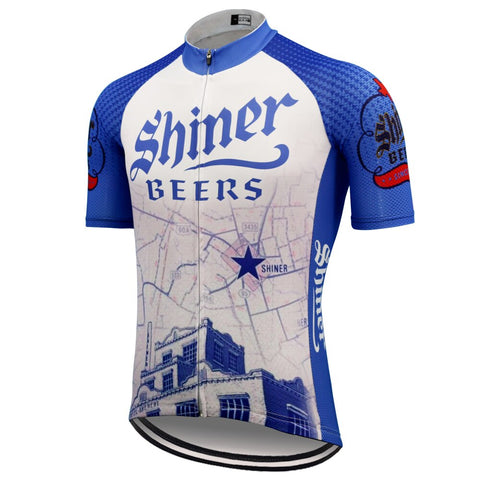 Shiner Beers Retro Cycling Jersey