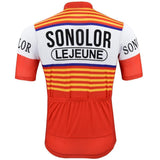 Sonolor Lejeune Retro Cycling Jersey