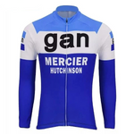 Gan Mercier Hutchinson Retro Cycling Jersey (with Fleece Option)
