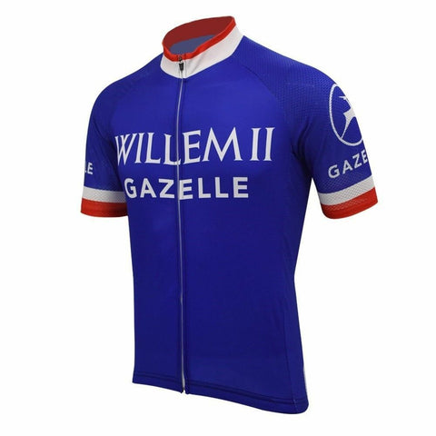 Willem II Gazelle Retro Cycling Jersey