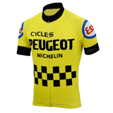 Peugeot Esso Retro Cycling Jersey Set