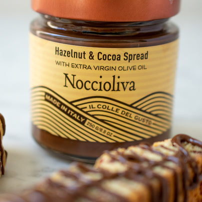 image of Il Colle Del Gusto Hazelnut Spread with Extra-Virgin Olive Oil