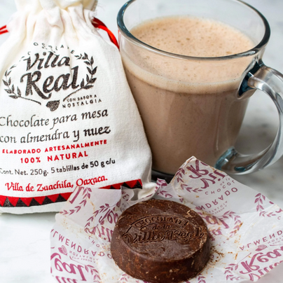 image of Villa Real Hot Chocolate with Almond