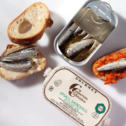 image of Conservas de Cambados Small Sardines in Olive Oil