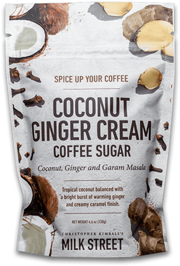 image of Milk Street Coconut Ginger Cream Coffee Sugar
