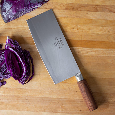 image of Lamson 8-Inch Chinese Vegetable Cleaver