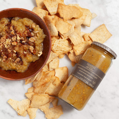 image of Navarino Icons Roasted and Crushed Eggplant Dip