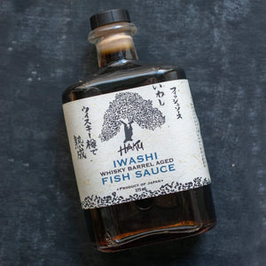 Wa Imports Haku Iwashi Whiskey Barrel Aged Fish Sauce