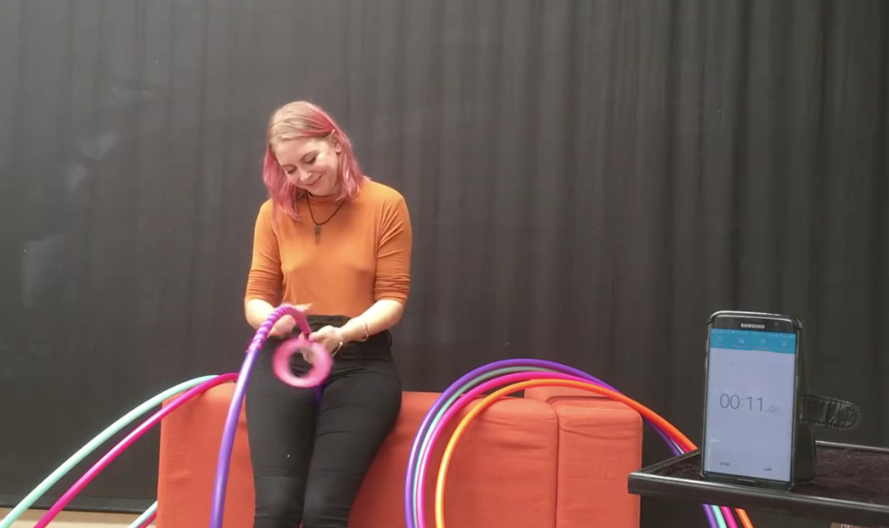 Hula Hoop Making Speed Test