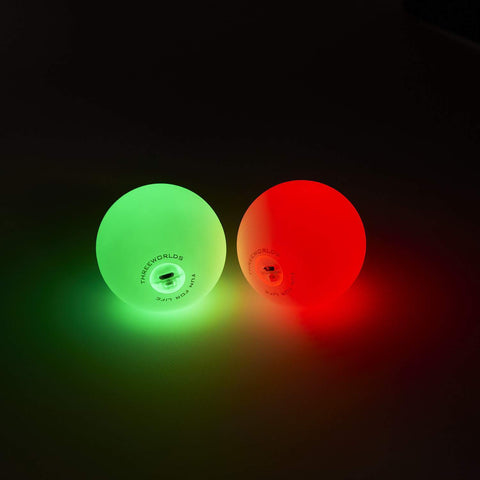 Pro LED Glow Juggling Ball, USB Rechargeable - Set of 3