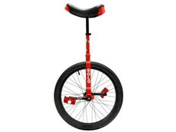 "Circus/Unicycles - 16"" Solo Unicycle Red"
