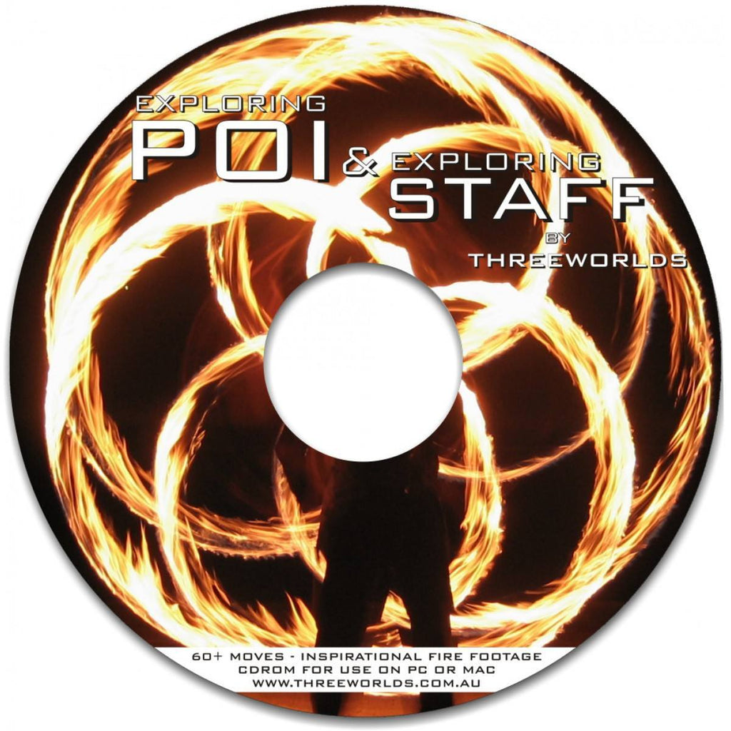 Fire/Dvd's And Books/Staff Dvd's And Books - Exploring Poi & Staff Download