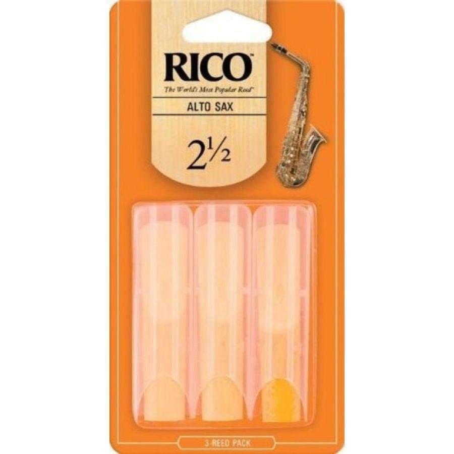 Musical Instruments/Wind - Rico Alto Saxophone Reeds 3pack