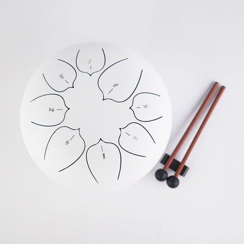 Lotus Steel Tongue Drum