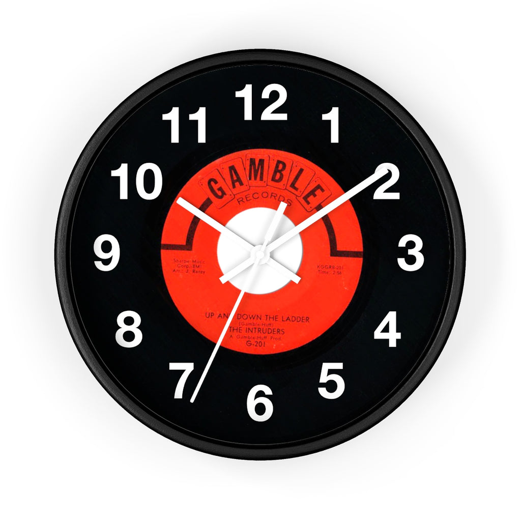 Gamble Records 45 Series Wall clock