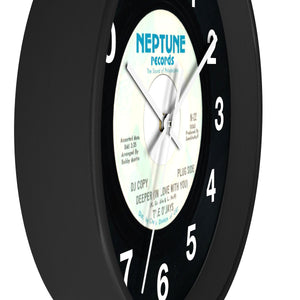 Neptune Records 45 Series Wall Clock