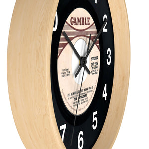 Gamble Records: I'll Always Love My Momma 45 Series Wall Clock