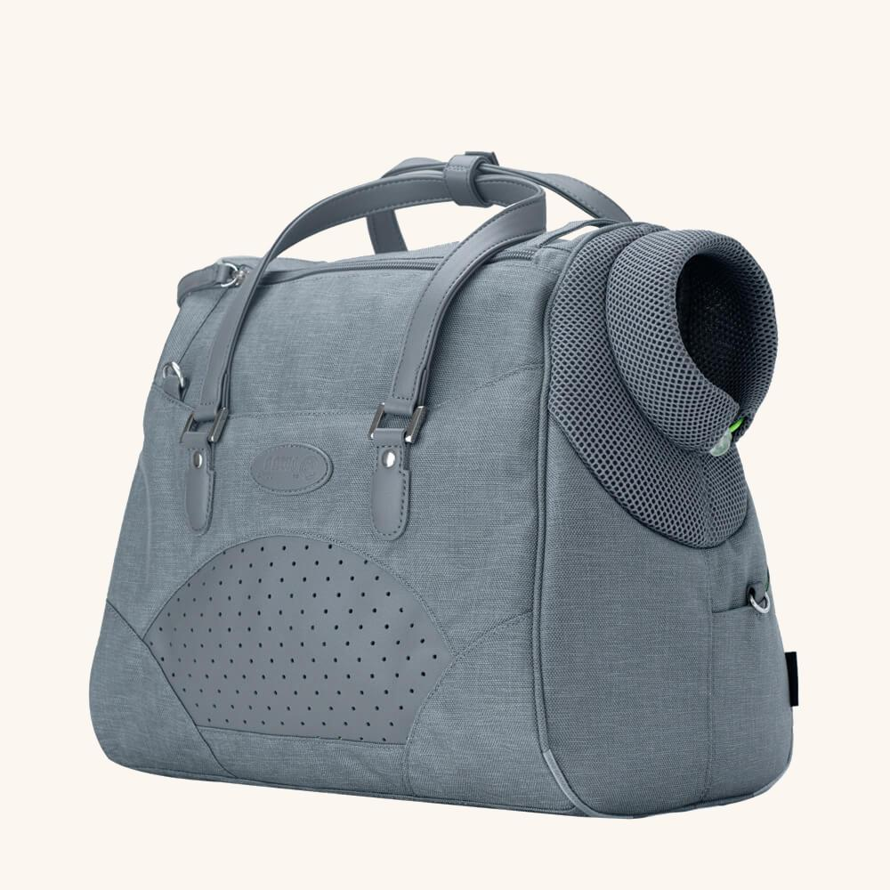 Dog Tote - Dolphin Grey - Goldie's the Gold Standard