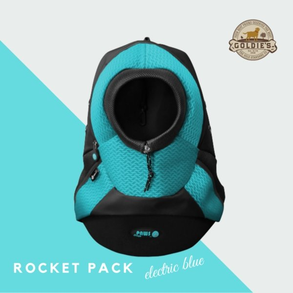 Rocket Pack - Electric Blue - Goldie's the Gold Standard Co.