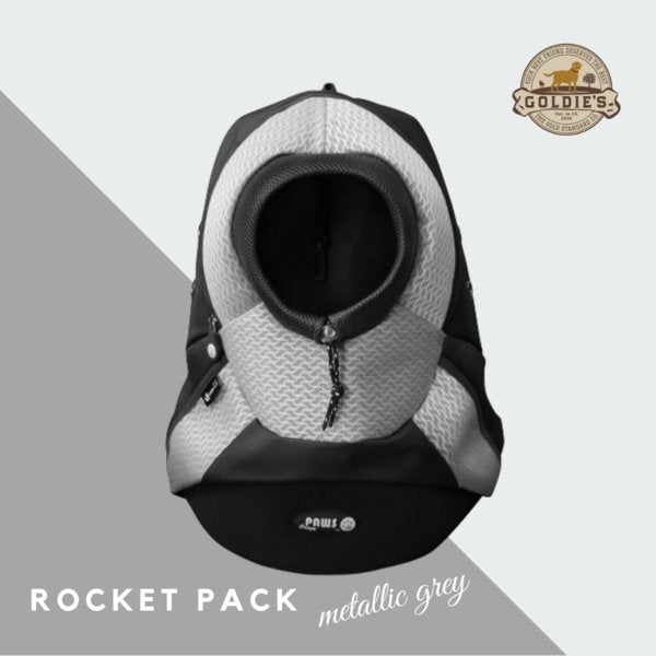 Rocket Pack - Metallic Grey - Goldie's the Gold Standard Co.