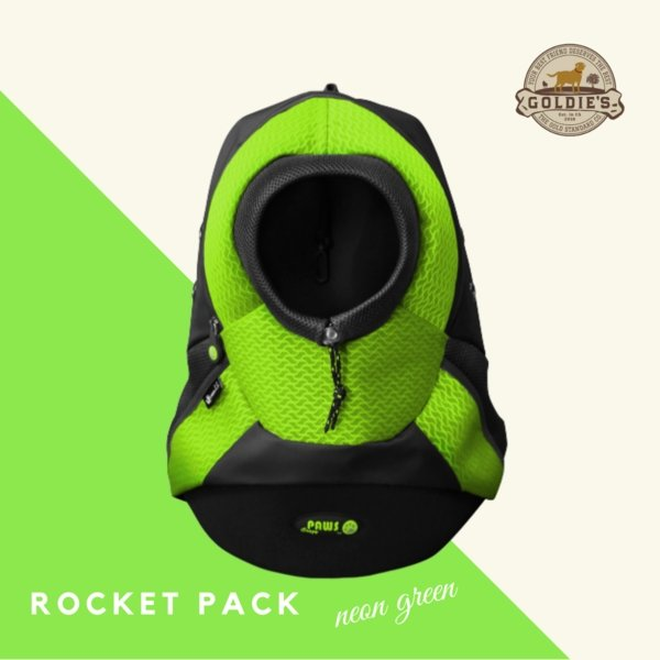 Rocket Pack - Neon Green - Goldie's the Gold Standard Co.