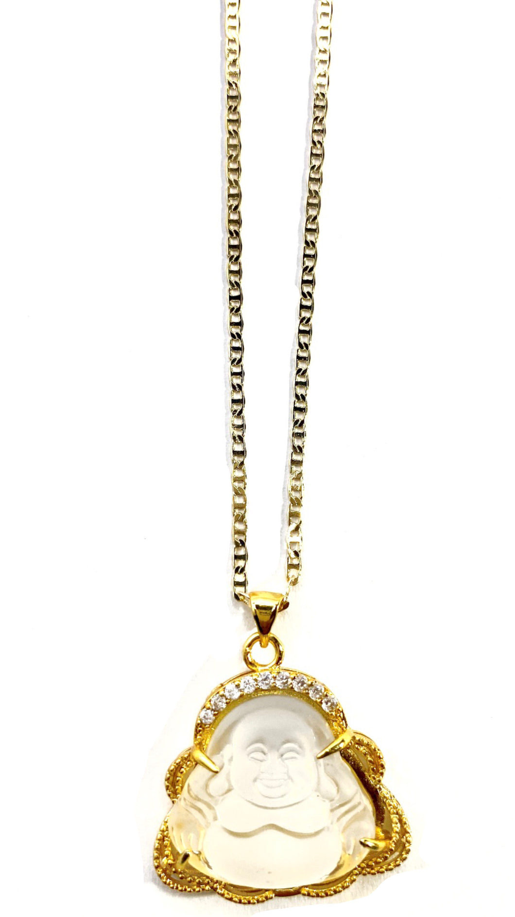 Gracious Buddha Necklace